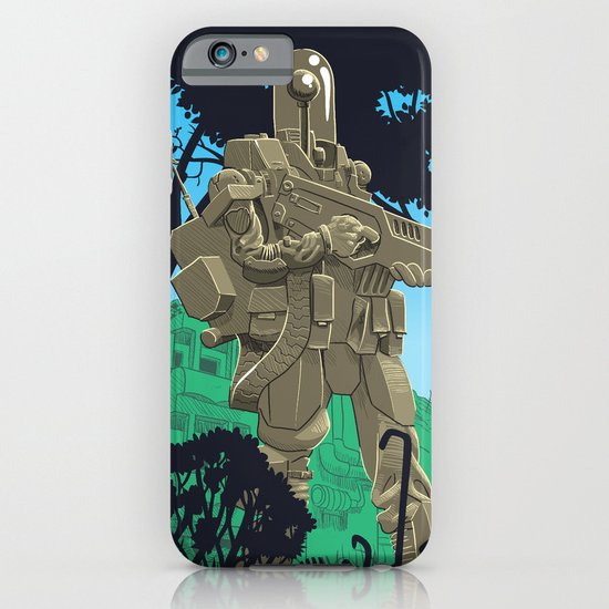Robotic Warfighter MK.5D (devGrob) iPhone & iPod Case