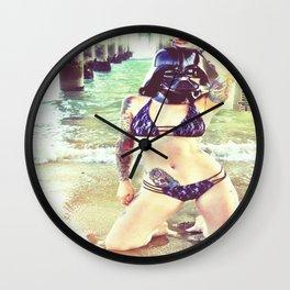 Darth Harmony's Summer Vacation Wall Clock