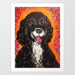 Moe Art Print