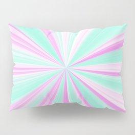 Teal & Pink Mint Pinch Pillow Sham