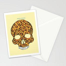 Wild Child Skull Stationery Cards