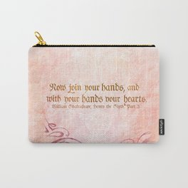 Join your Hands Carry-All Pouch