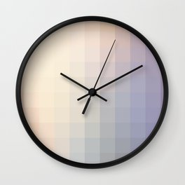 Lumen, Lilac and Violet Light Wall Clock