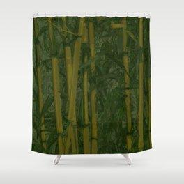 Bamboo jungle Shower Curtain