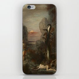 HERCULES AND THE LERNAEAN HYDRA - GUSTAVE MOREAU iPhone Skin