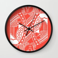 Creativity Is King Wall Clock