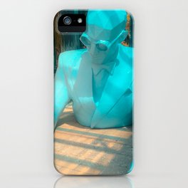 Le Corbusier by Xavier Veilhan iPhone Case