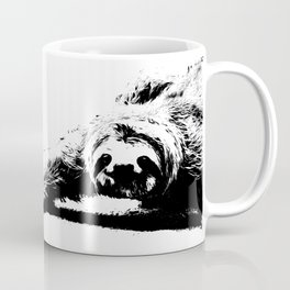 A Smiling Sloth Coffee Mug