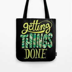 Getting Things Done Tote Bag