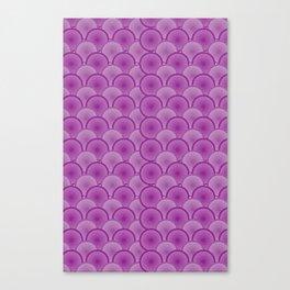 Circular Wave Canvas Print