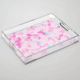 IN BLOOM Acrylic Tray