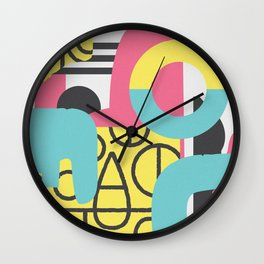 Collusion Wall Clock