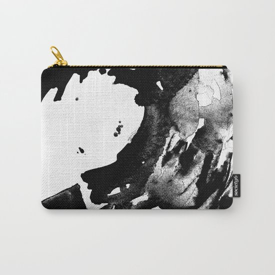 Drilling for that black gold in our oceans, black wave Carry-All Pouch