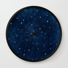 Whispers in the Galaxy Wall Clock