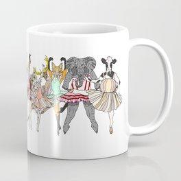 Animal Ballet Hipsters LV Coffee Mug