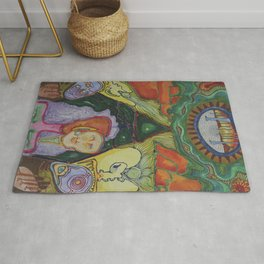 Tent Vision  Rug