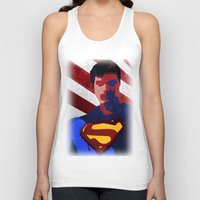 superman Tank Tops featuring Superman by Scar Design