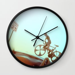 Desert Clime(b)s Wall Clock