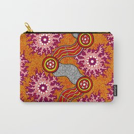 Aboriginal Art Authentic – Journey 2 Carry-All Pouch