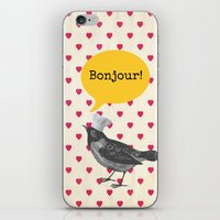 bonjour iPhone & iPod Skins featuring Bonjour! by Sreetama Ray