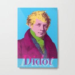 Didot Metal Print