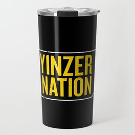 Yinzer Nation Travel Mug