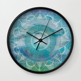 Vishuddha: Throat Chakra Wall Clock