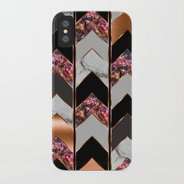 Chevron Peacock iPhone Case