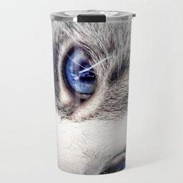 Blue Eyes Travel Mug