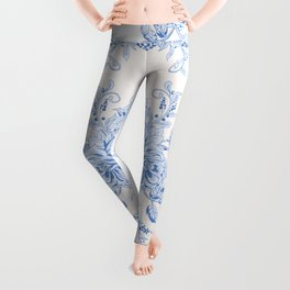 French shabby chic Leggings
