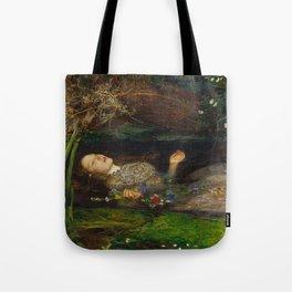 John Everett Millais - Ophelia Tote Bag