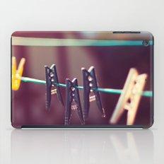 Pegs iPad Case