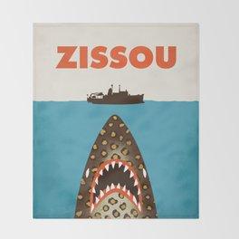 Zissou The Life Aquatic Throw Blanket