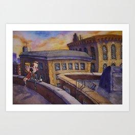 Dreamer's Dream Art Print