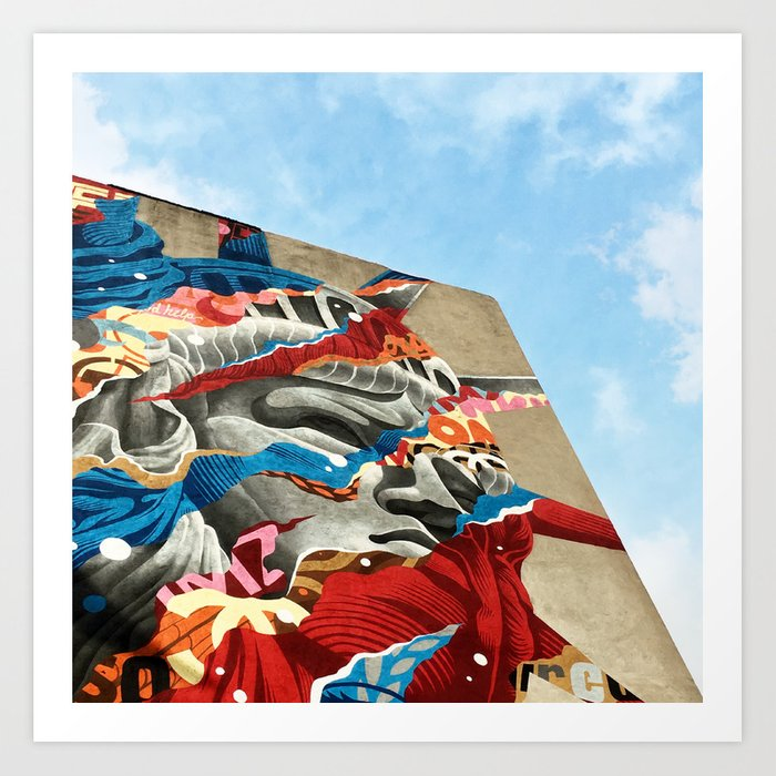 Lady Liberty in Little Italy Art Print