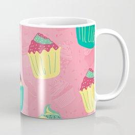 Cupcake Sweet Food Baking Pattern Gift Coffee Mug