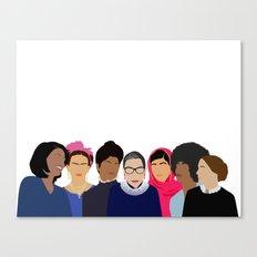 Feminist Squad Goals Canvas Print