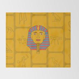 Egyptian Prince Throw Blanket