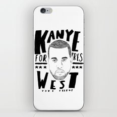 Vote Yeez iPhone & iPod Skin