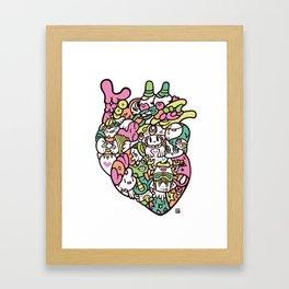 KOKORO - HEART Framed Art Print