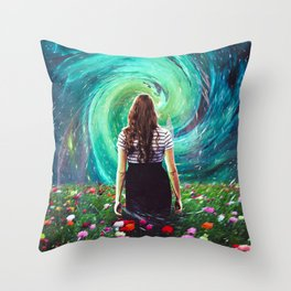 Unaffected Throw Pillow