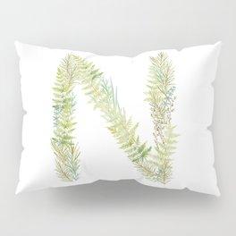 Initial N Pillow Sham