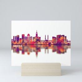 Mecca KSA Skyline Mini Art Print