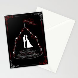 The finest of pleasures are always the unexpected ones. The Night Circus Stationery Cards