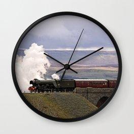 60103 Flying Scotsman at Ribblehead Wall Clock