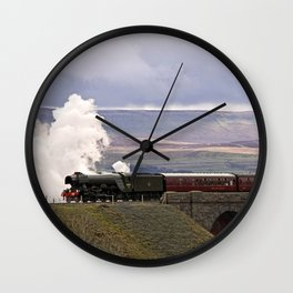 60103 Flying Scotsman at Ribblehead Wall Clock