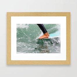 Hang 10 Framed Art Print