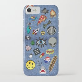 Patch Extravaganza iPhone Case