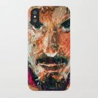 tony stark iPhone & iPod Cases featuring TONY STARK by DITO SUGITO