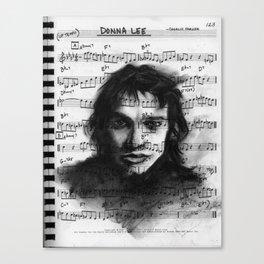 """""""Portrait of Genius"""" Canvas Print"""
